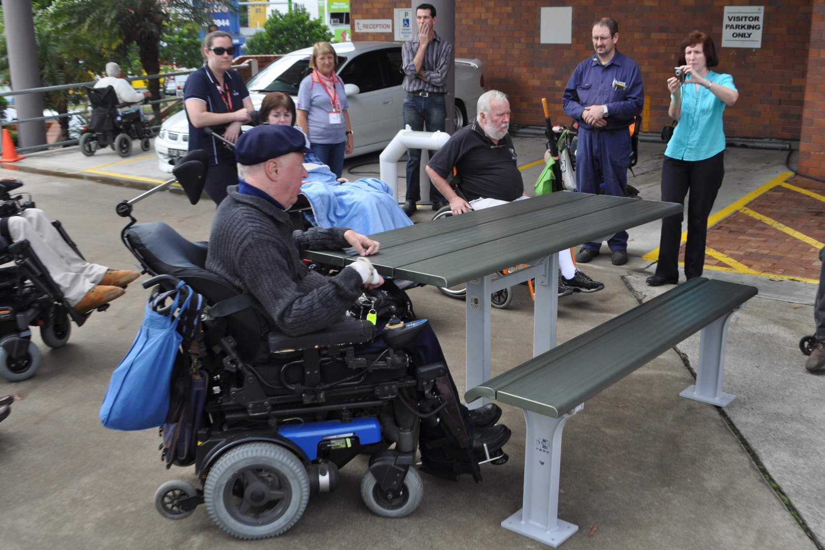 Park furniture landscape blog australian made outdoor for Garden design for disabled